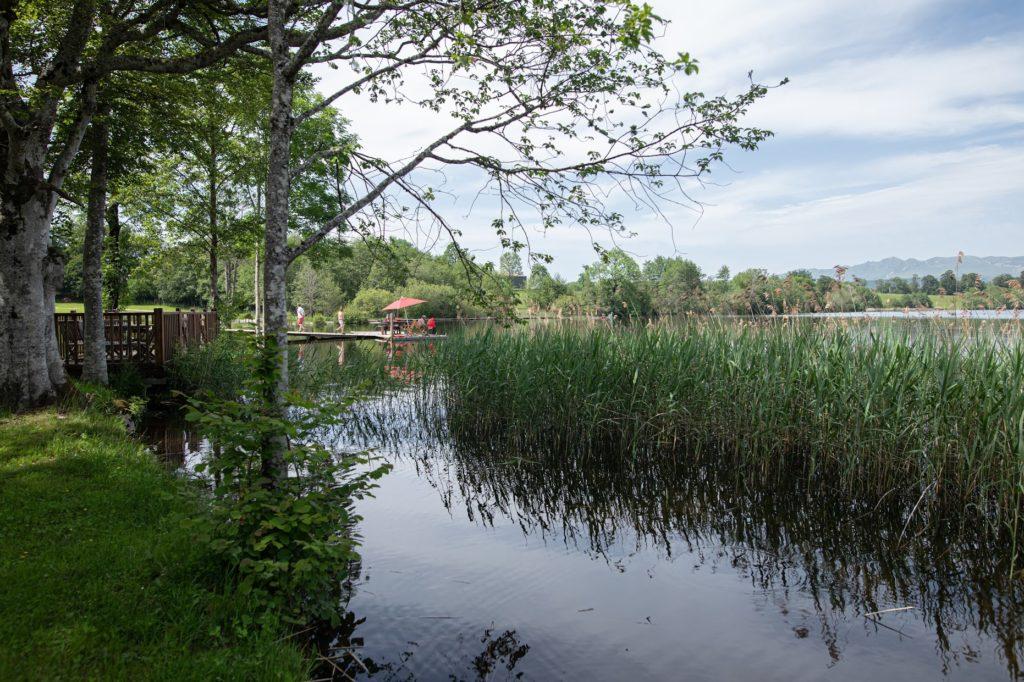 Pêche et Quadrix au lac de la Landie