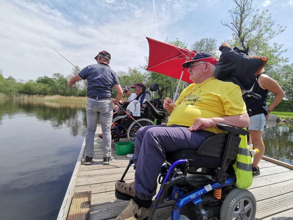 4×4 et pêche au lac de la Landie