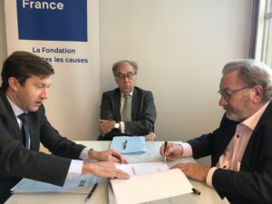 Signature Convention Fondation de France