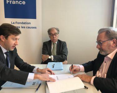 Signature Convention Fondation de France