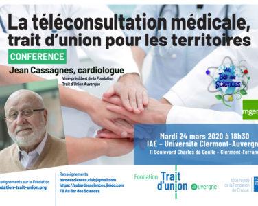 CONFERENCE – La téléconsultation médicale, trait d'union pour les territoires